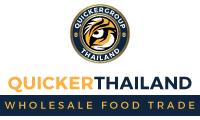 Quickerthailand ขายส่งอาหาร Quickerthailand offers fresh farm produce and factory direct foods to all ASEAN countries and the west. Using road, rail, sea and air-freight delivery systems, goods arrive quickly and efficiently door to door.